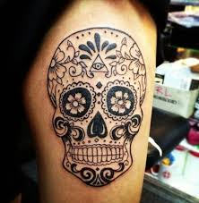 40 sugar skull meaning designs