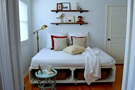 Guest Bed Small Space - a joyful cottage living large in small spaces chatfield court