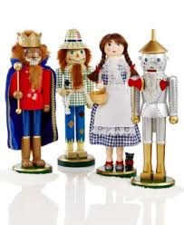 set of 4 wizard of oz nutcrackers only at macy s