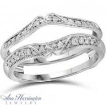 Wedding Ring Enhancers by Wedding Ring Enhancers Diamond Wraps U0026 Guards Ann Harrington