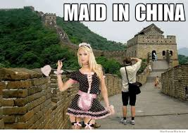 Made In China Meme - maid in china weknowmemes