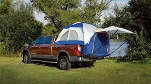 nissan titan pop up camper nissan unveils titan xd accessories at 2016 shot show news top speed