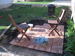 Snap Together Slate Patio Tiles by Backyard Plans Coming Together Bungalow Bungahigh