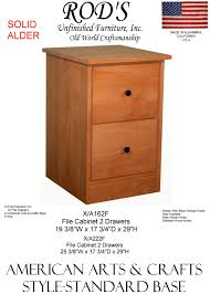 unfinished wood file cabinet 2 drawer crafters u0026 weavers