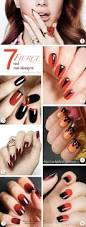 7 red nail designs fierce enough for halloween