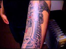 transformers tattoo youtube