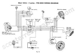 lambretta electronic ignition wiring diagram circuit and
