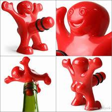 novelty wine glasses gifts 2018 happy wine bottle stopper kits novelty wine glass