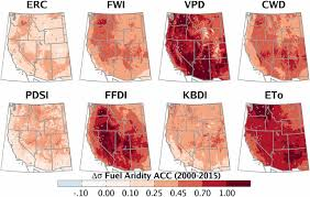Wildfire Western Us by Impact Of Anthropogenic Climate Change On Wildfire Across Western