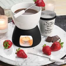 cuisine pour deux fondue pour deux set all gifts olive cocoa