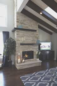 fireplace simple fireplace and stone center decorating idea