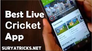 watch live cricket score and live cricket streaming using android