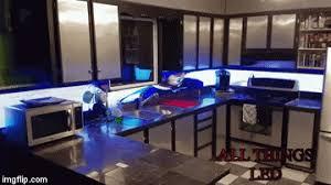all things led kitchen backsplash how have we lived without it led animation kitchen backsplashes