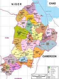 Nigeria State Map by Wpid Borno State Postcode Map Church Of The Brethren