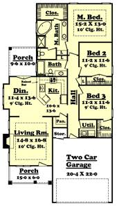 Craftsman Style House Floor Plans by 222 Best Floor Plans Under 1600sq Ft Images On Pinterest Small