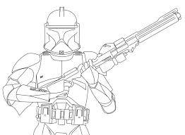 Clone Trooper Coloring Pages Bebo Pandco Wars Clone Coloring Pages