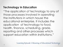 themes in the education of little tree educational technology 1