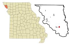 map of oregon mo oregon missouri