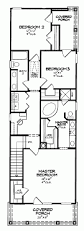 house plans for a narrow lot bungalow arts