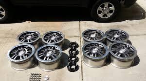 lexus trd wheels for sale 8 trd rock warrior forged wheels 17x8 5x150 atlanta