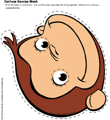 curious george mask birthday parties kids pbs parents pbs