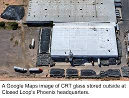 Google Maps Phoenix Az by 90m Pounds Of Crt U0027s Could Be Abandoned As Closed Loop Collapse