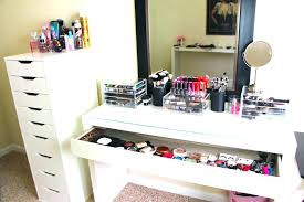 makeup vanity table with lighted mirror ikea ikea makeup table instagood co