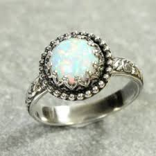 vintage promise rings best vintage style opal ring products on wanelo