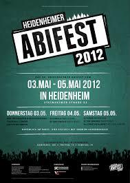 plakat design abifest 2012 plakat philipps