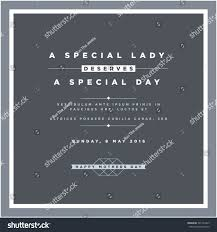 mothers day invitation template stock vector 391534429 shutterstock