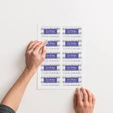 business card stickers vistaprint