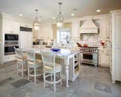 Kitchens White Cabinets White Tile Floor Kitchen Gen4congress Com