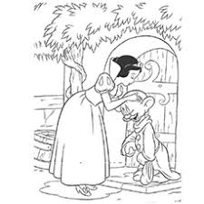 printable version of snow white top 20 free printable snow white coloring pages online