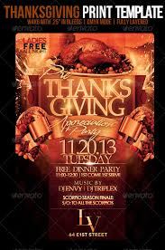 thanksgiving flyer templates happy thanksgiving