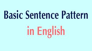 identify sentence pattern english grammar basic sentence pattern in english basic patterns youtube