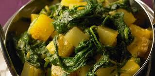 cuisine epinard poêlée de navets pommes de terre et épinards frais facile et pas