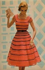 1950 u0027s fashion sporting the wonder woman cuffs decades before