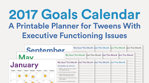 Smart Goals Worksheet For Kids Help For Kids With Executive Functioning Problems Parent Strategies