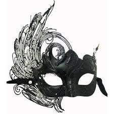 black venetian mask masks polyvore