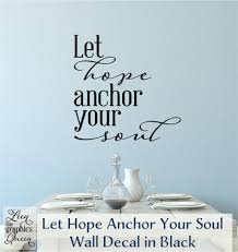 Chalkboard Love And Hope Anchors - let hope anchor your soul hope anchors collection leen the