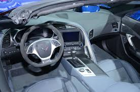 corvette stingray interior 2015 chevrolet corvette z06 convertible first look motor trend