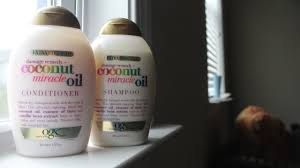 Hair Extension Shampoo And Conditioner by Product Review And Demo Ogx Coconut Miracle Oil Shampoo And