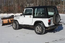 jeep wranglers for sale in ct jeep wrangler 1995 in prospect norwich middletown ct rt 69