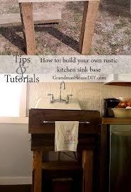 Kitchen Sink Base How To Build Your Own Kitchen Sink Base Hometalk