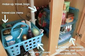 bathroom sink organization ideas dollar store bathroom organizing the craft
