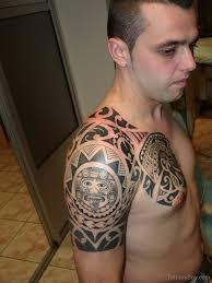 tattoo tribal chest pretty maori tribal tattoo on arm to chest