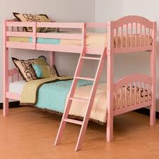 Storkcraft Long Horn Bunk Bed In Pink FREE SHIPPING - Pink bunk bed