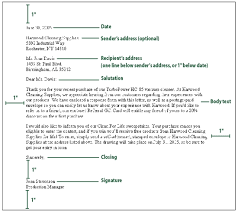 7 business letter format spacing quotation formats