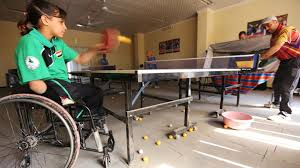 wounded in bombing iraq now rising table tennis star the