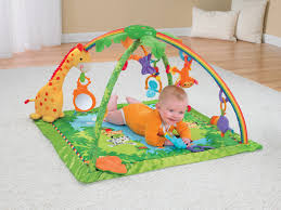 fisher price rainforest music and lights deluxe gym playset amazon com fisher price rainforest melodies and lights deluxe gym
